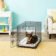 Frisco Fold & Carry Single Door Dog Crate, 30-in