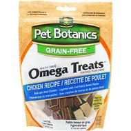 Pet Botanics Healthy Omega Chicken Flavor Dog Treats, 5-oz bag