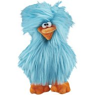 West Paw Spring Chicken Dog Toy, Turquoise