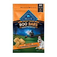 Blue Buffalo Halloween Boo Bars Mummy Morsels with Pumpkin & Cinnamon Dog Treats, 8-oz bag