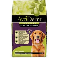 AvoDerm Advanced Sensitive Support Lamb & Sweet Potato Formula Grain-Free Adult Dry Dog Food