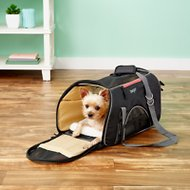 Bergan Wheeled Comfort Pet Carrier, Black