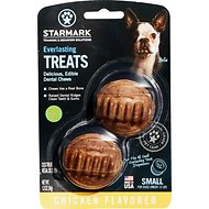 Starmark Everlasting Dental Chicken Dog Treats, Small