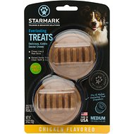 Starmark Everlasting Dental Chicken Dog Treats, Medium