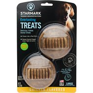Starmark Everlasting Dental Chicken Dog Treats, Large