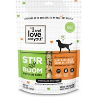 I and Love and You Stir & Boom Raw Raw Chick Boom Ba Dinner Grain-Free Dehydrated Dog Food, 1.5-lb bag
