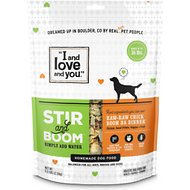 I and Love and You Stir & Boom Raw Raw Chick Boom Ba Dinner Grain-Free Dehydrated Dog Food, 5.5-lb bag