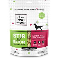 I and Love and You Stir & Boom Raw Raw Beef Boom Ba Dinner Grain-Free Dehydrated Dog Food, 5.5-lb bag