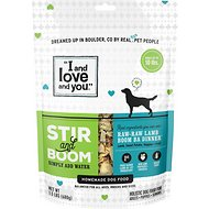 I and Love and You Stir & Boom Raw Raw Lamb Boom Ba Dinner Grain-Free Dehydrated Dog Food, 1.5-lb bag