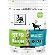 I and Love and You Stir & Boom Raw Raw Lamb Boom Ba Dinner Grain-Free Dehydrated Dog Food, 5.5-lb bag