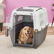 MidWest Skudo Deluxe Plastic Pet Carrier, 36-in