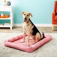MidWest Paradise Teflon Fabric Protector Pet Bed, Pink Floral, 42-in