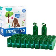 Frisco Refill Dog Poop Bags + 2 Dispensers, Unscented, 900 count