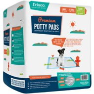 Frisco Giant Training & Potty Pads, 27.5-in x 44-in, 30 count