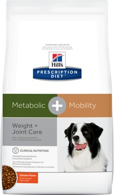 5. Hill's Prescription Diet Metabolic, Mobility Weight and Joint Care Dry Dog Food