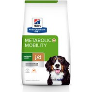 Hill's Prescription Diet Metabolic + Mobility Weight & Joint Care Chicken Flavor Dry Dog Food