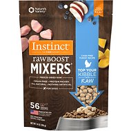 Instinct by Nature's Variety Raw Boost Mixers Turkey Recipe Freeze-Dried Dog Food Topper, 14-oz bag