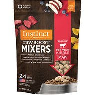 Instinct by Nature's Variety Raw Boost Mixers Beef Recipe Freeze-Dried Dog Food Topper, 6-oz bag