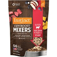 Instinct by Nature's Variety Raw Boost Mixers Beef Recipe Freeze-Dried Dog Food Topper, 14-oz bag