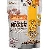 Instinct by Nature's Variety Raw Boost Mixers Chicken Recipe Freeze-Dried Cat Food Topper, 6-oz bag