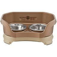 Neater Feeder Elevated Dog Bowls, Bronze, Small