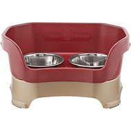 Neater Feeder Elevated Dog Bowls, Cranberry, Medium