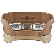 Neater Feeder Elevated Cat Bowls, Bronze