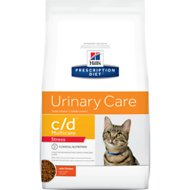 Hill's Prescription Diet c/d Multicare Urinary Care Stress with Chicken Dry Cat Food, 13-lb bag