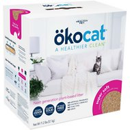 Okocat Super Soft Clumping Wood Cat Litter, 11.2-lb box