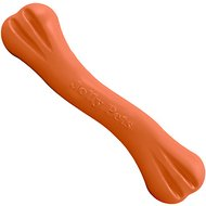 Jolly Pets Jolly Bone Dog Toy, Orange, 9-inch
