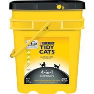 Tidy Cats 4-in-1 Strength Clumping Cat Litter, 35-lb pail