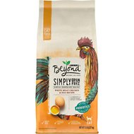 Purina Beyond Simply White Meat Chicken & Egg Recipe Grain-Free Dry Cat Food, 5-lb bag