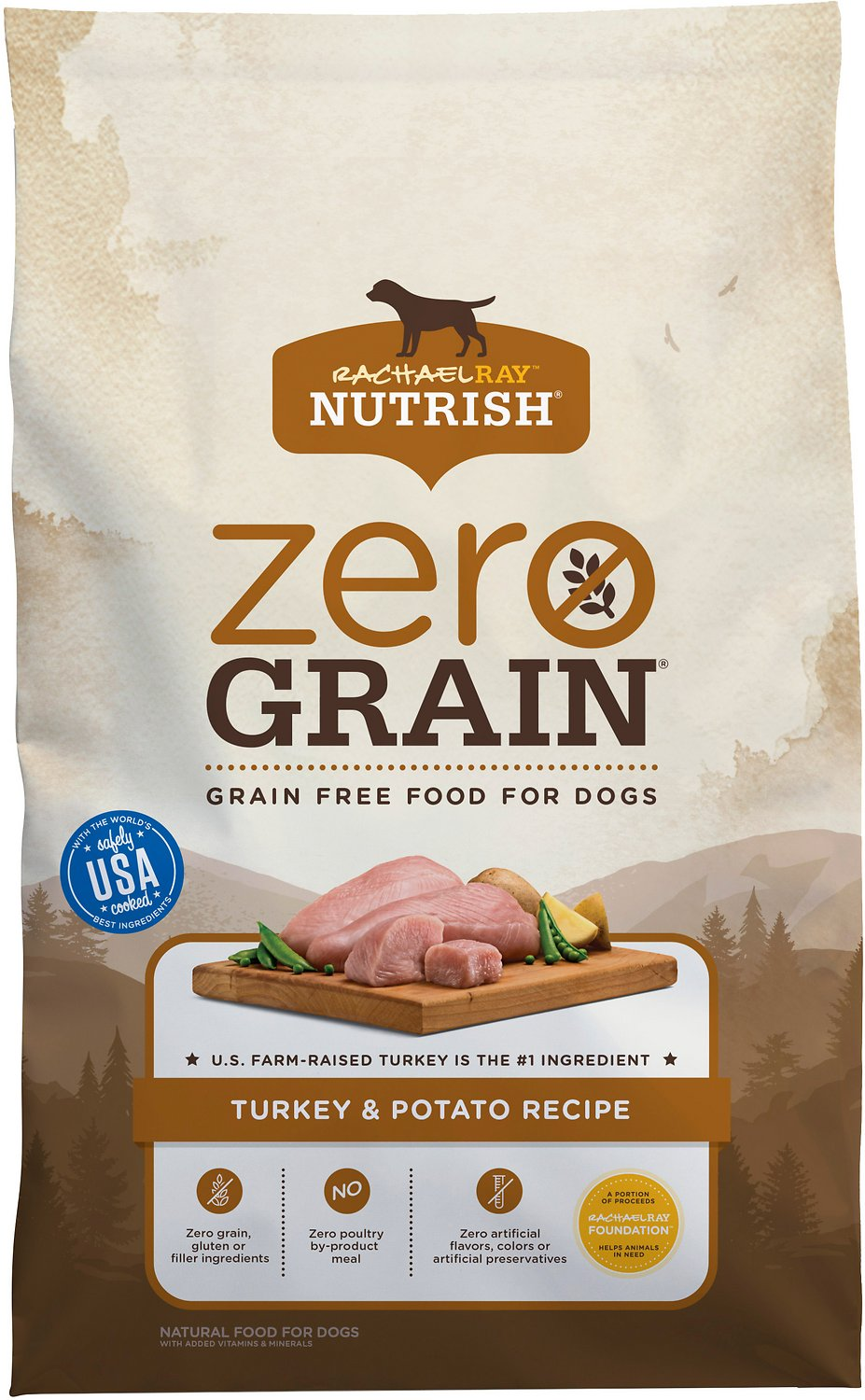 zero grain dog food