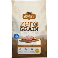 Rachael Ray Nutrish Zero Grain Natural Turkey & Potato Recipe Grain-Free Dry Dog Food, 28-lb bag