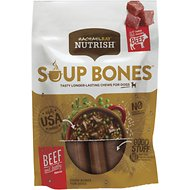 Rachael Ray Nutrish Soup Bones Beef & Barley Flavor Chews Dog Treats