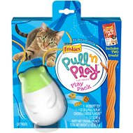 Friskies Pull 'n Play Play Pack Cat Treat Toy, 2 treats with toy