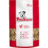 PureSnacks Chicken Breast Freeze-Dried Dog Treats, 4.94-oz bag