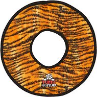 Tuffy's No Stuff Mega Ring Dog Toy, Tiger