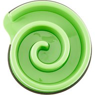Ethical Pet Slow Feeder Dog Bowl, Green