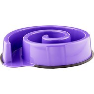 Ethical Pet Slow Feeder 10-inch Dog Bowl, Purple
