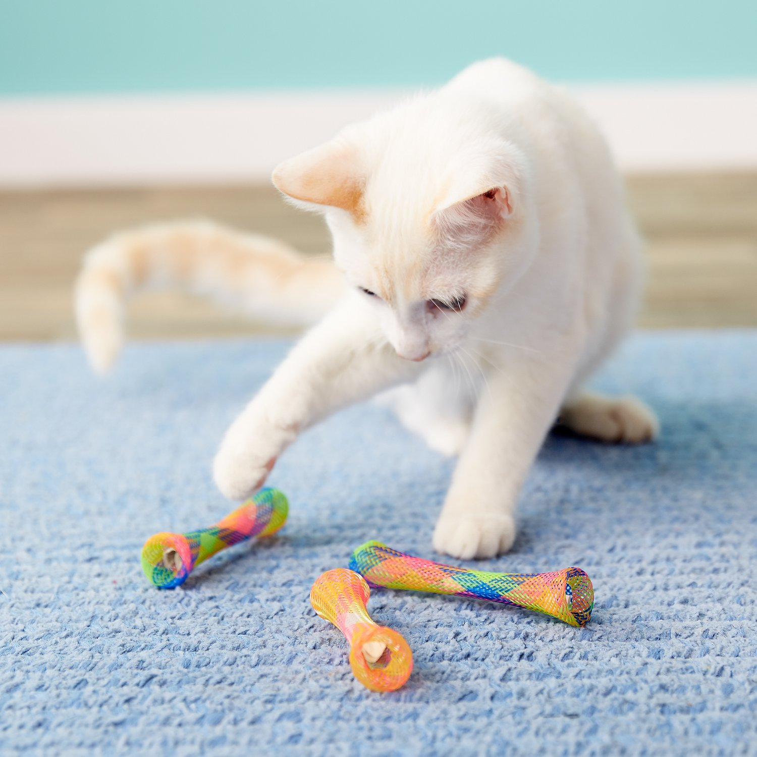 Ethical Pet Kitty Fun Tubes Cat Toy, 3 count, 3.25-in