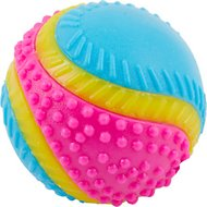 Ethical Pet Sensory Ball Dog Toy, Color Varies, 3.25-in