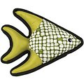 Ethical Pet Beyond Tough Fish Squeaky Dog Chew Toy, Color Varies