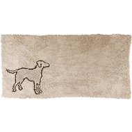 Ethical Pet Clean Paws Dog Doormat, Tan, X-Large