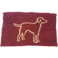 Ethical Pet Clean Paws Dog Doormat, Red, Medium