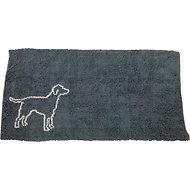 Ethical Pet Clean Paws Dog Doormat, Grey, X-Large