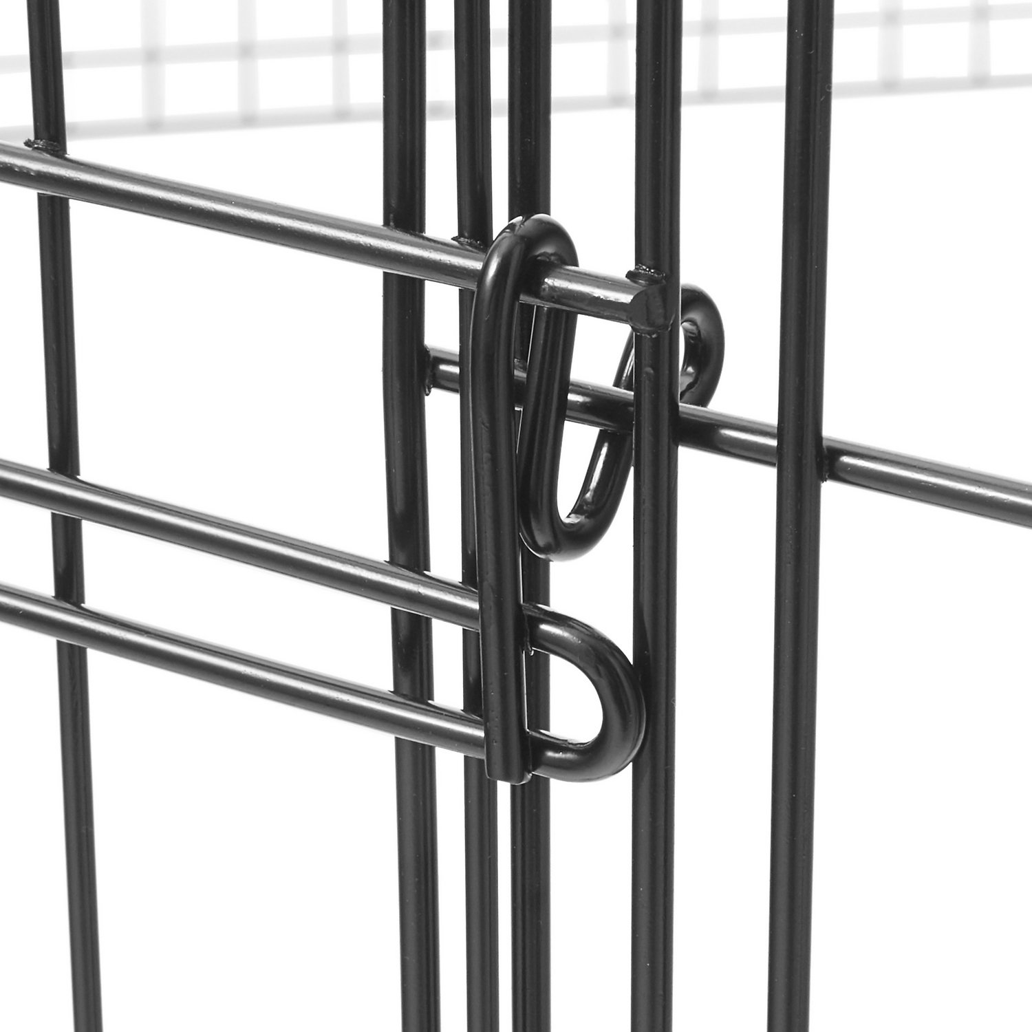 Midwest Exercise Pen With Split Maxlock Door Black 24 In