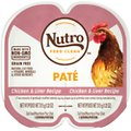 Nutro Perfect Portions Grain-Free Chicken & Liver Recipe Cat Food Trays
