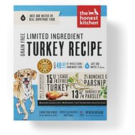 The Honest Kitchen Limited Ingredient Diet Turkey Recipe Grain-Free Dehydrated Dog Food, 10-lb box