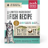 The Honest Kitchen Limited Ingredient Diet Fish Recipe Grain-Free Dehydrated Dog Food, 10-lb box